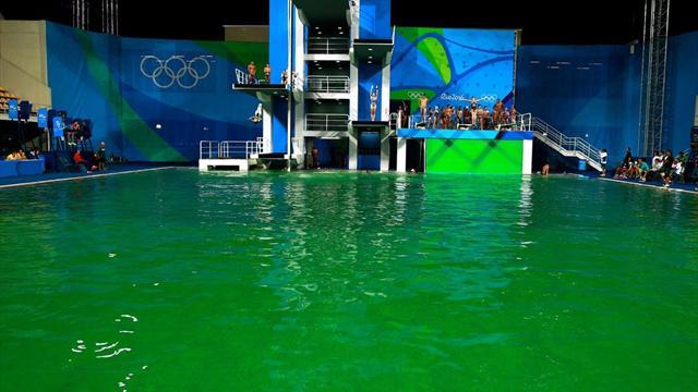 Волимпийском бассейне вРио поменяют воду