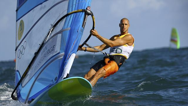 Van Rijsselberghe clinches first Rio sailing gold, GB's Nick Dempsey takes silver