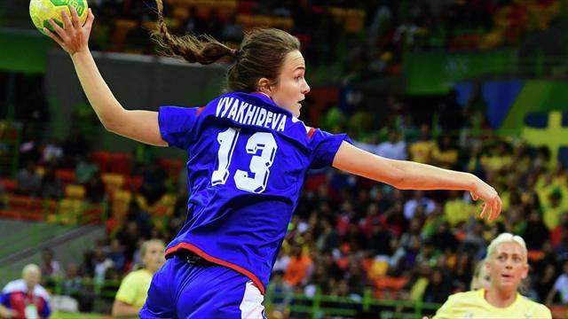 Вяхирева признана MVP гандбольного турнира Олимпиады