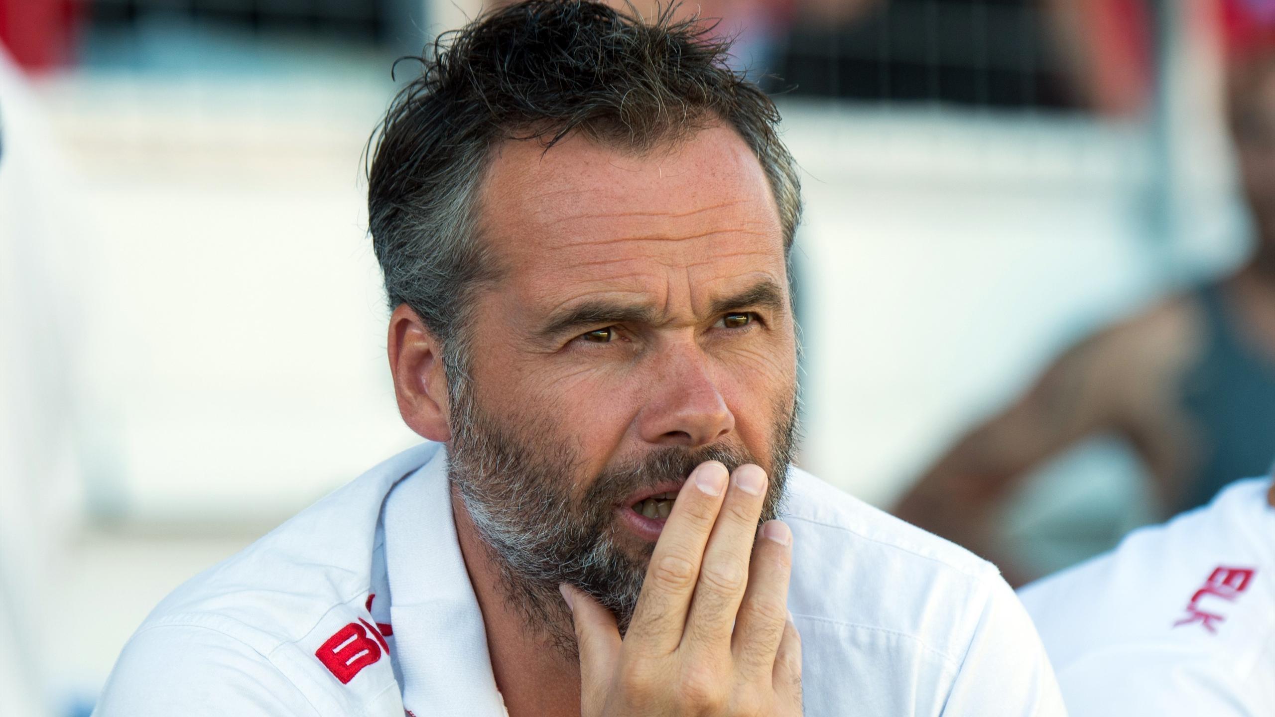 Ugo Mola, l'entraîneur en chef du Stade toulousain - 12 août 2016