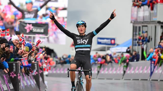 """Gianni Moscon: """"Potrei debuttare al Tour e sogno la Roubaix. Io, agricoltore prestato alla bici"""""""