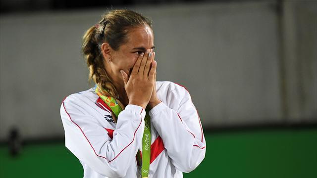 Rio 2016, incredibile nel tennis. Monica Puig è medaglia d'oro
