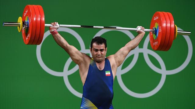 Сборная Ирана взяла второе золото в тяжелой атлетике