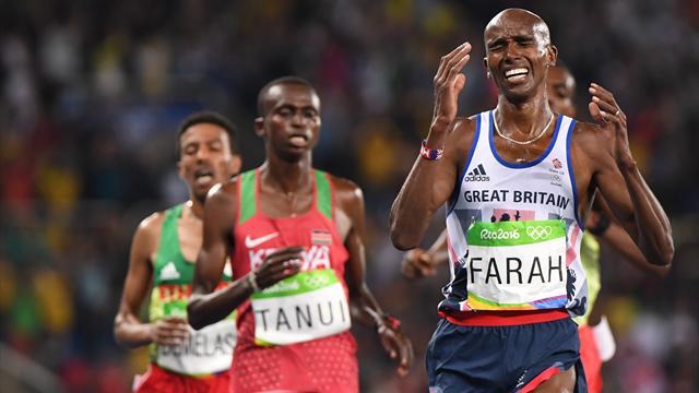 ЧемпионМО Фара отверг подозрения виспользовании допинга