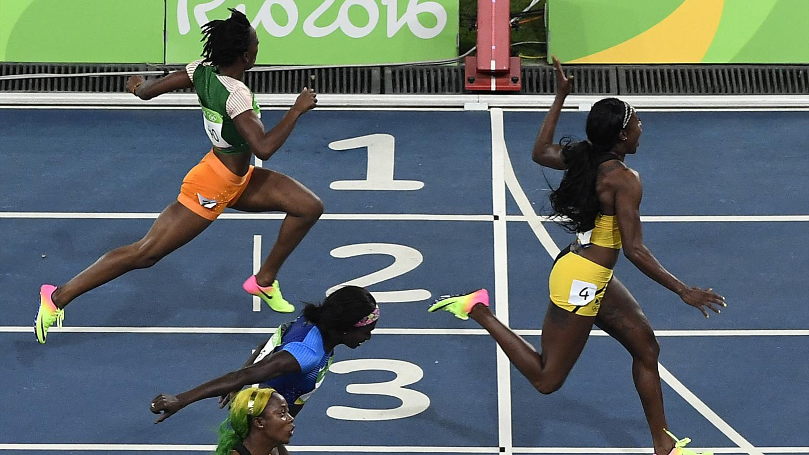 Olympia 2016 In Rio 100m Gold An Jamaikanerin Elaine Thompson In