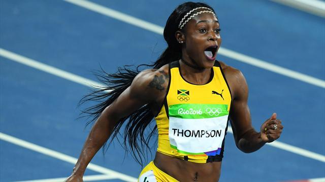 Olympics Rio 2016: Elaine Thompson stuns Shelly-Ann Fraser ...