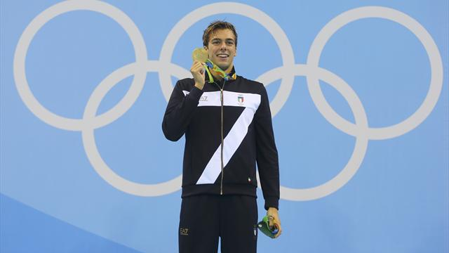 Italy's Paltrinieri leads from the front to win 1,500m freestyle