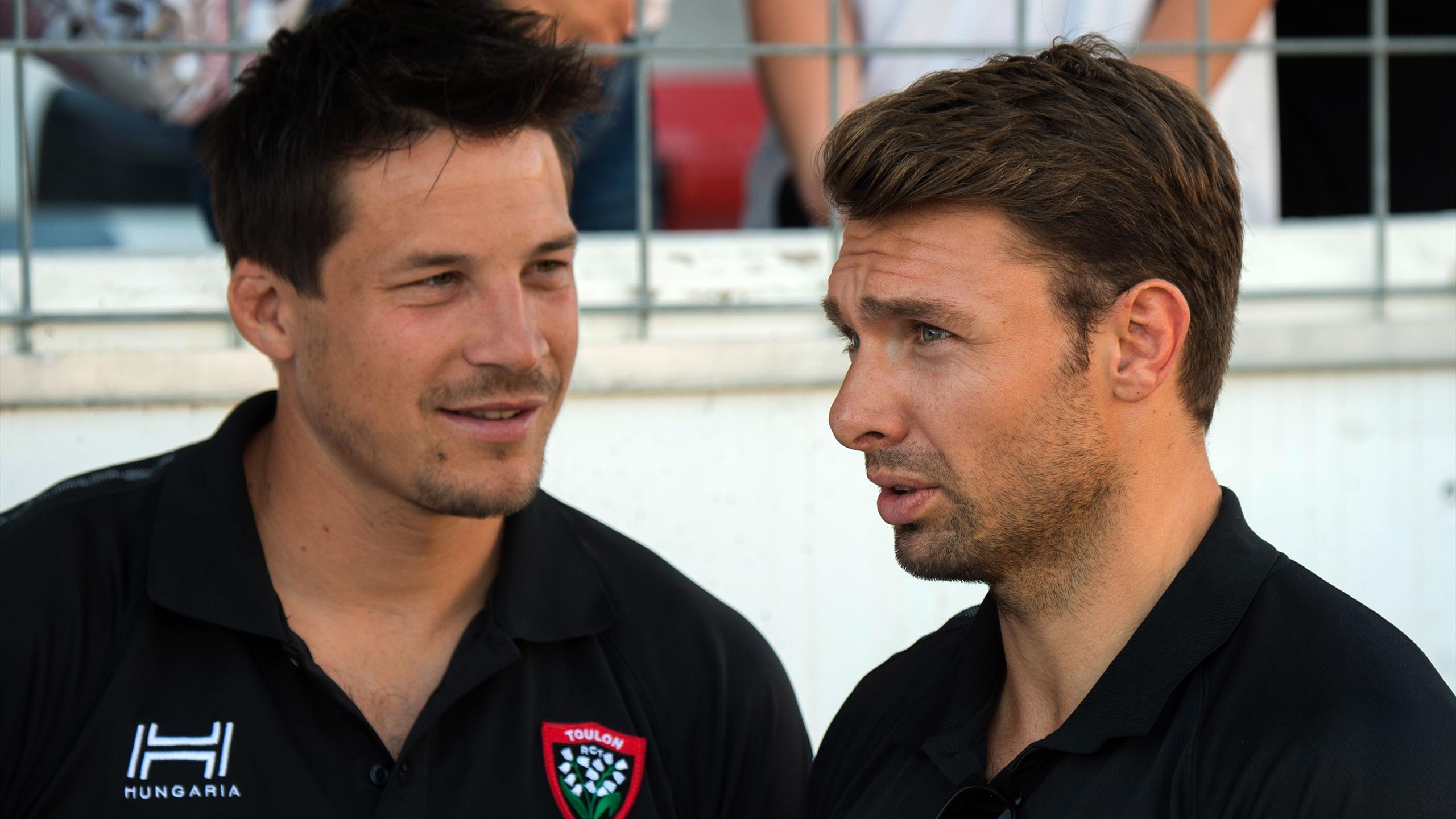François Trinh-Duc et Vincent Clerc