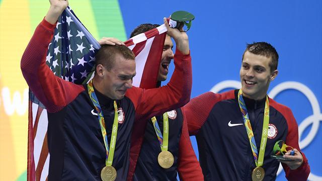 Millième médaille d'or des Etats-Unis : les dix chiffres fous d'une domination olympique