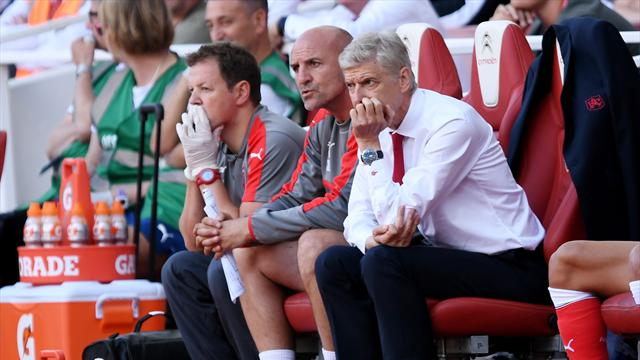 Wenger admits Arsenal squad 'not physically ready' after Liverpool defeat, blames Euro 2016