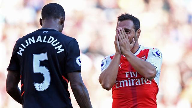 Vaincu par Liverpool dans un match de folie, Arsenal est déjà dans le dur