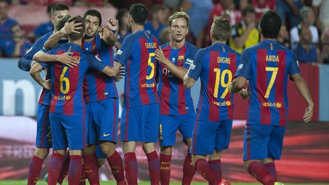 Le Barça a déjà une main sur son premier trophée de la saison