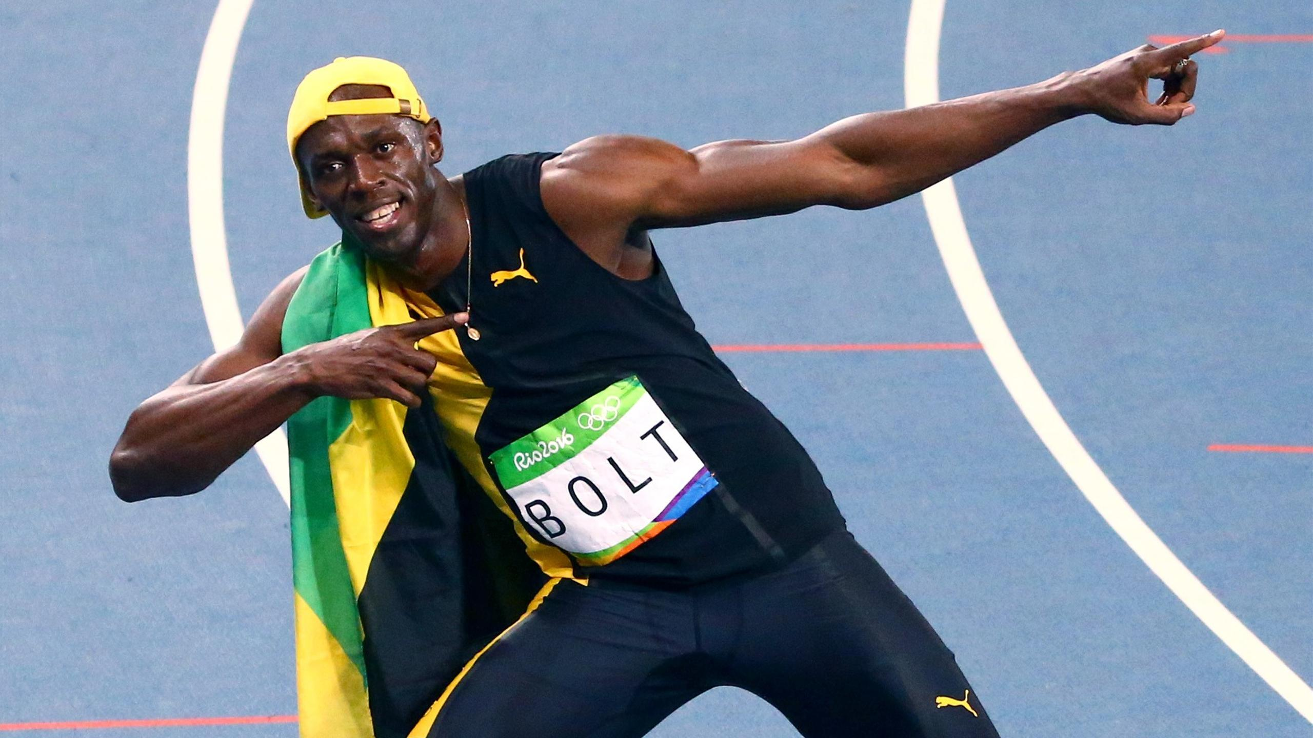Olympics Rio 2016: Usain Bolt wins unprecedented third ...