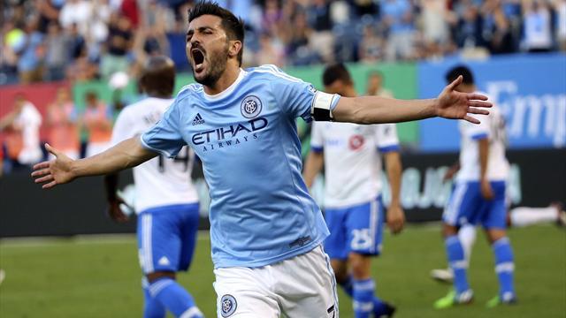 Le boulet de canon de Villa, le slalom d'Altidore : le Top 5 des buts de la semaine en MLS
