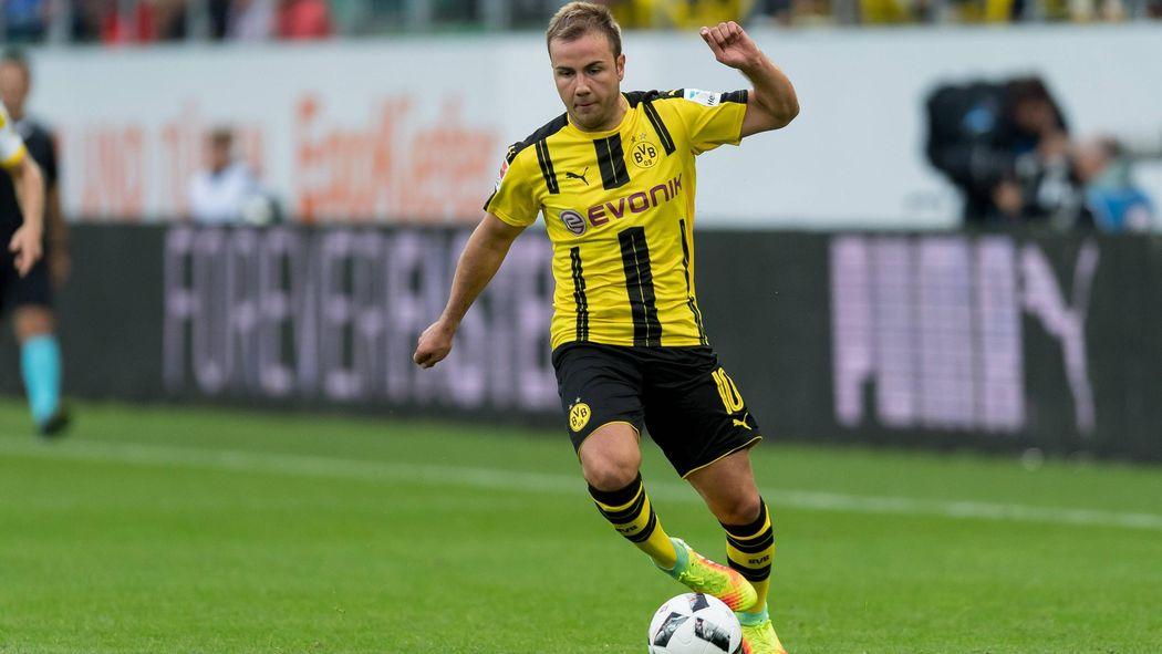 e8ca9229cf0e9c Borussia Dortmund setzt gegen den FC Bayern auf Mario Götze und André  Schürrle - Bundesliga 2016-2017 - Fußball - Eurosport Deutschland