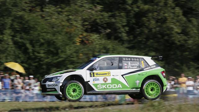 Star names head superb entry list for ERC Barum Czech Rally Zlín