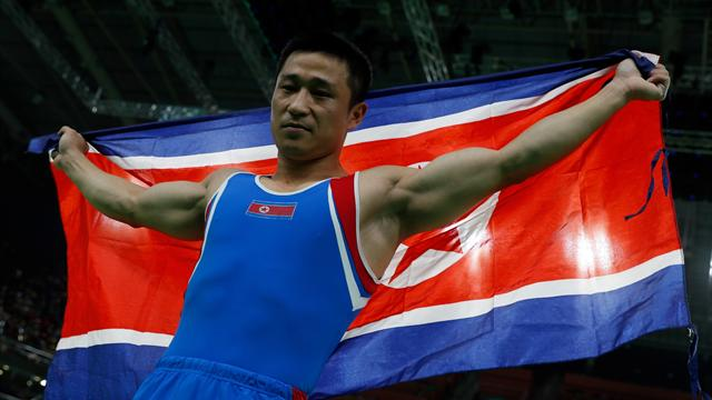 Olympics: North Korea's Ri wins Rio men's vault gold