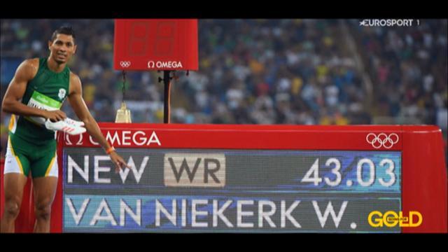 В погоне за золотом: обладатель мирового рекорда на дистанции 400 метров Ван Никерк
