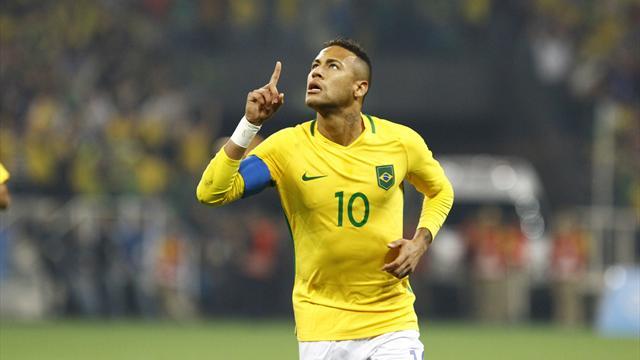 Neymar et les siens ont encore deux marches à franchir avant d'accomplir leur rêve