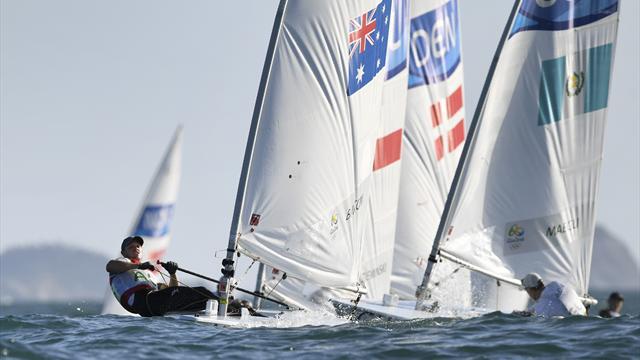 Australia's Burton takes Laser gold; Scheidt misses out