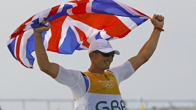Golden Scott officially men's Finn champion after sailing victory is confirmed