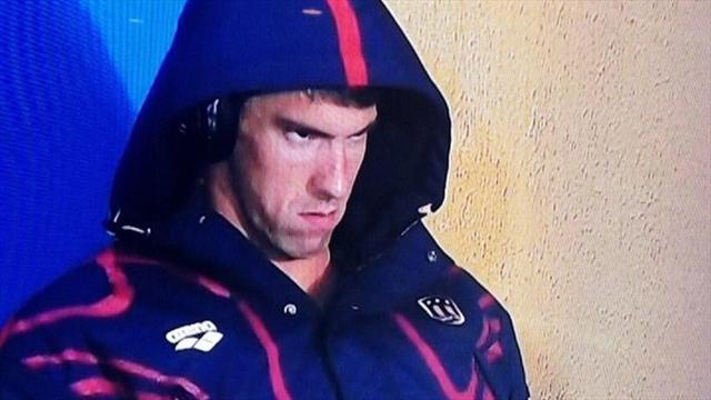 Michael Phelps köpek balığına mağlup oldu