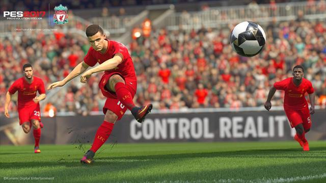 Liverpool signe un partenariat avec Konami pour PES 2017