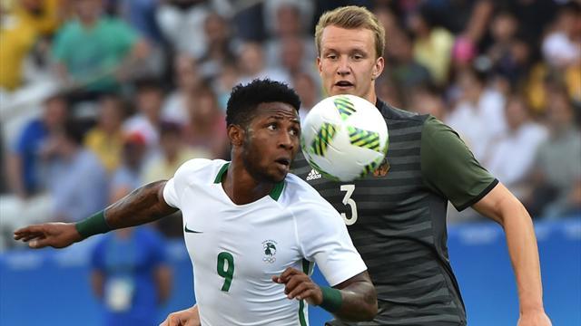 Вфинале мужского футбольного турнира наОлимпиаде сыграют Бразилия иГермания