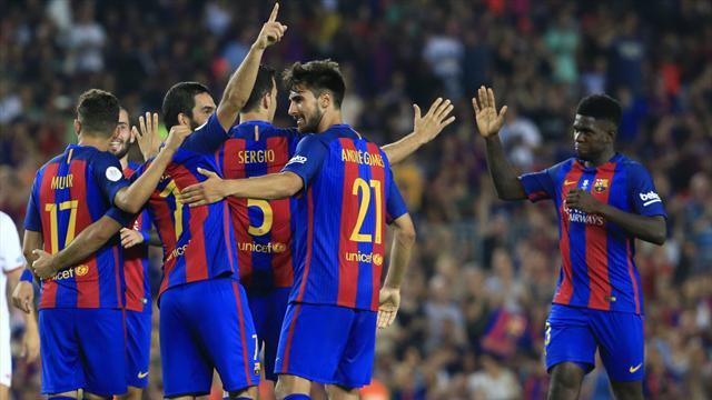 Trop fort pour Séville, le Barça enlève son premier trophée de la saison