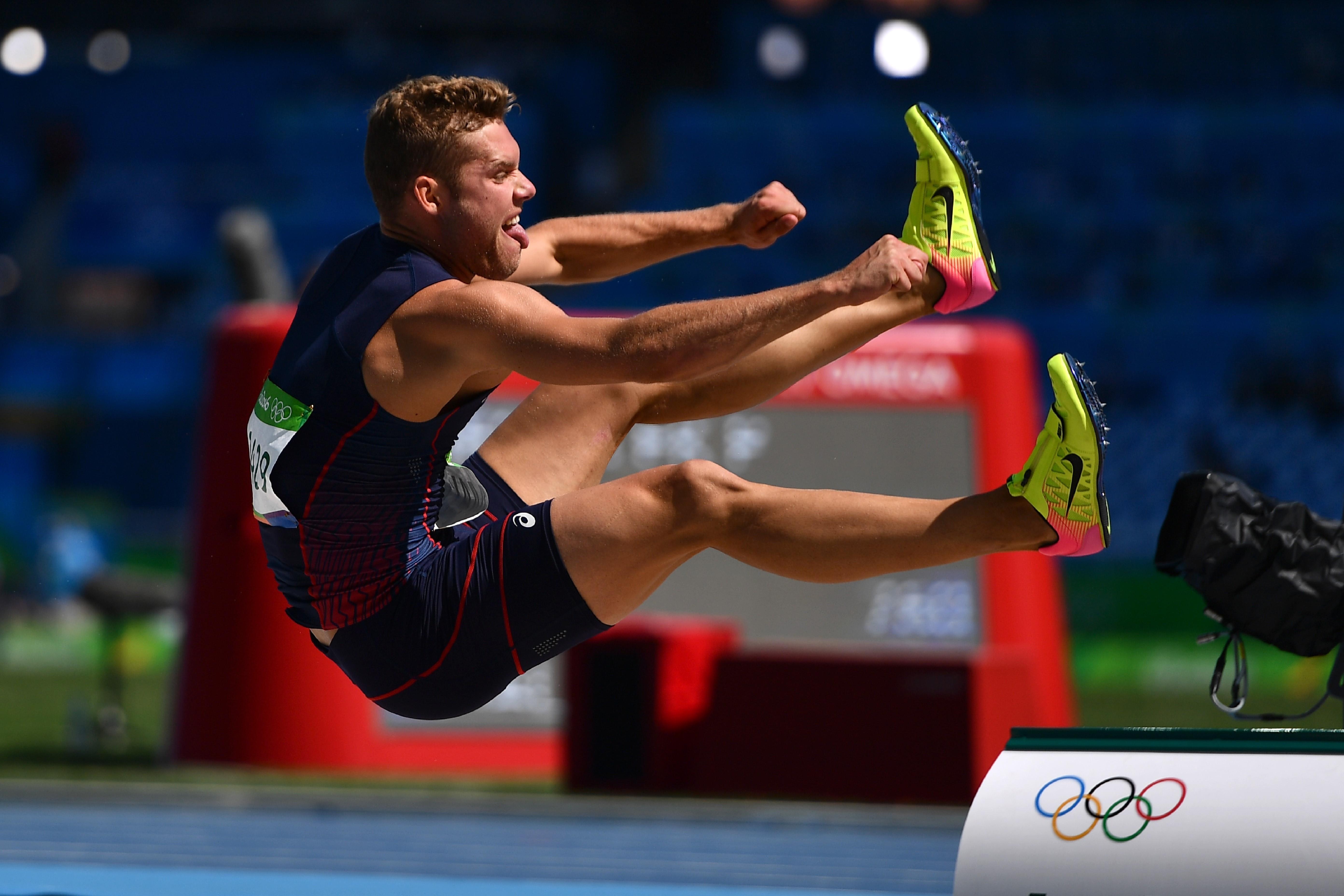 Kevin Mayer à Rio