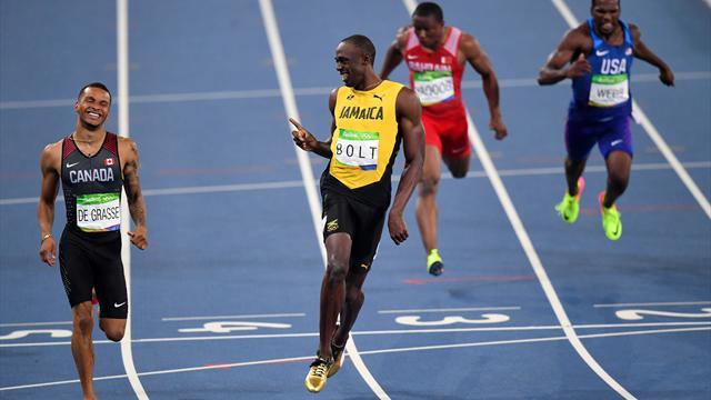 Replica Usain Bolt Finale 200 Metri Rio 2016 Rai Replay