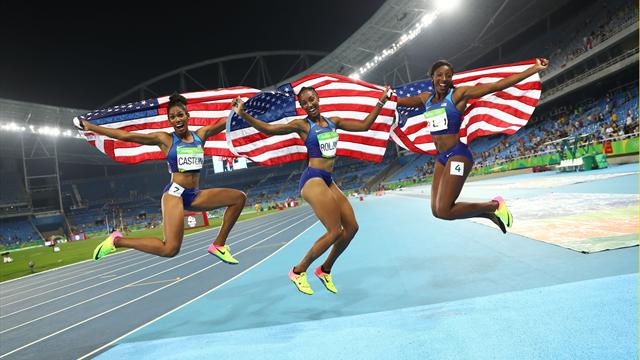 Olympic hurdles champion Rollins handed one-year ban for 'whereabouts failures'