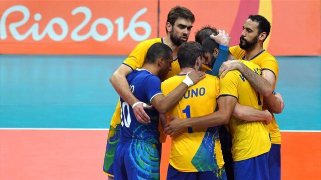 Rio steht Kopf! Brasiliens Volleyballer holen mit Neymars Unterstützung Gold