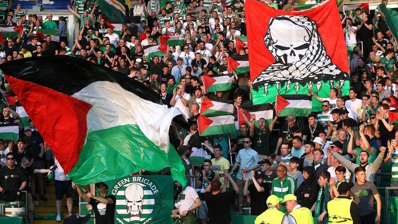 Liga Inggris  - Suporter Celtic Dukung Palestina, Dihukum UEFA