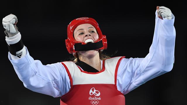 Британская тхэквондистка Джейд Джонс завоевала золотоОИ ввесе до57кг