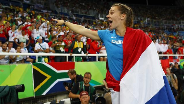 Croatia's Kolak wins women's javelin gold