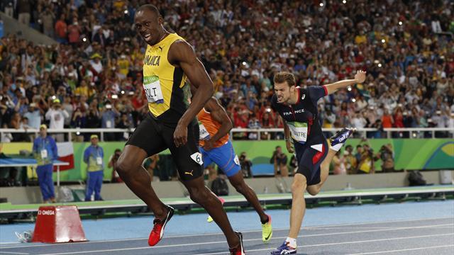Le grand huit pour Bolt, le bronze pour Lemaitre... pour trois millièmes !