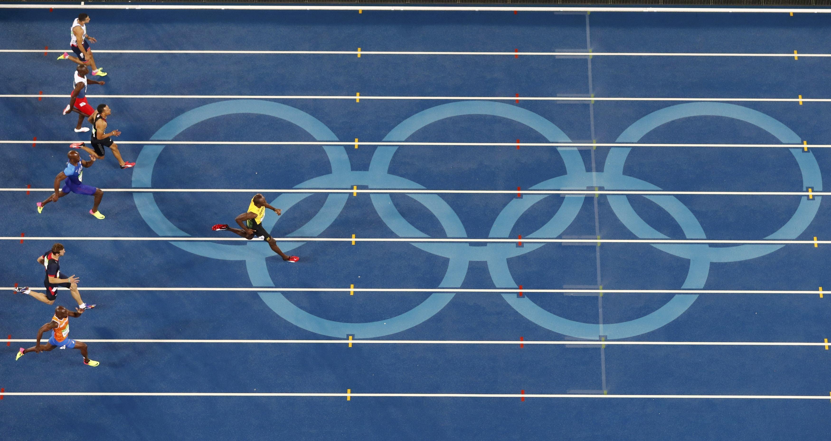 En finale du 200m, Usain Bolt a fait le vide...