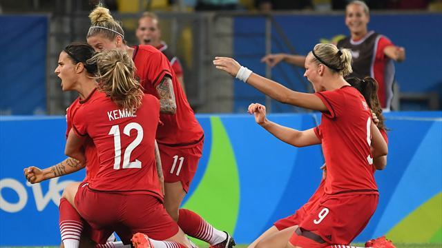 Gold! DFB-Frauen verabschieden Trainerin Neid mit Olympiasieg