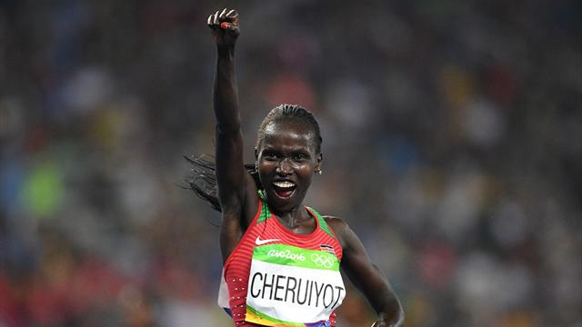 Cheruiyot takes shock 5000m gold as Ayana fades