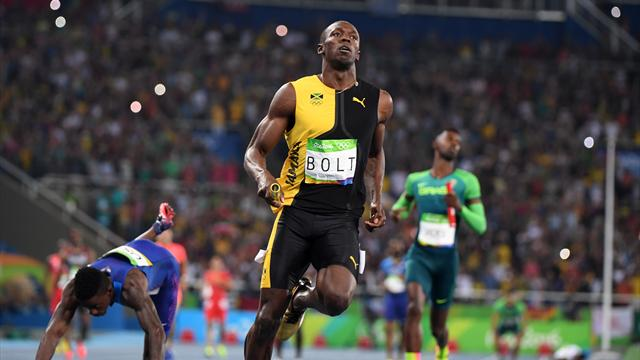 Bolt praised by rivals after his Olympic finale