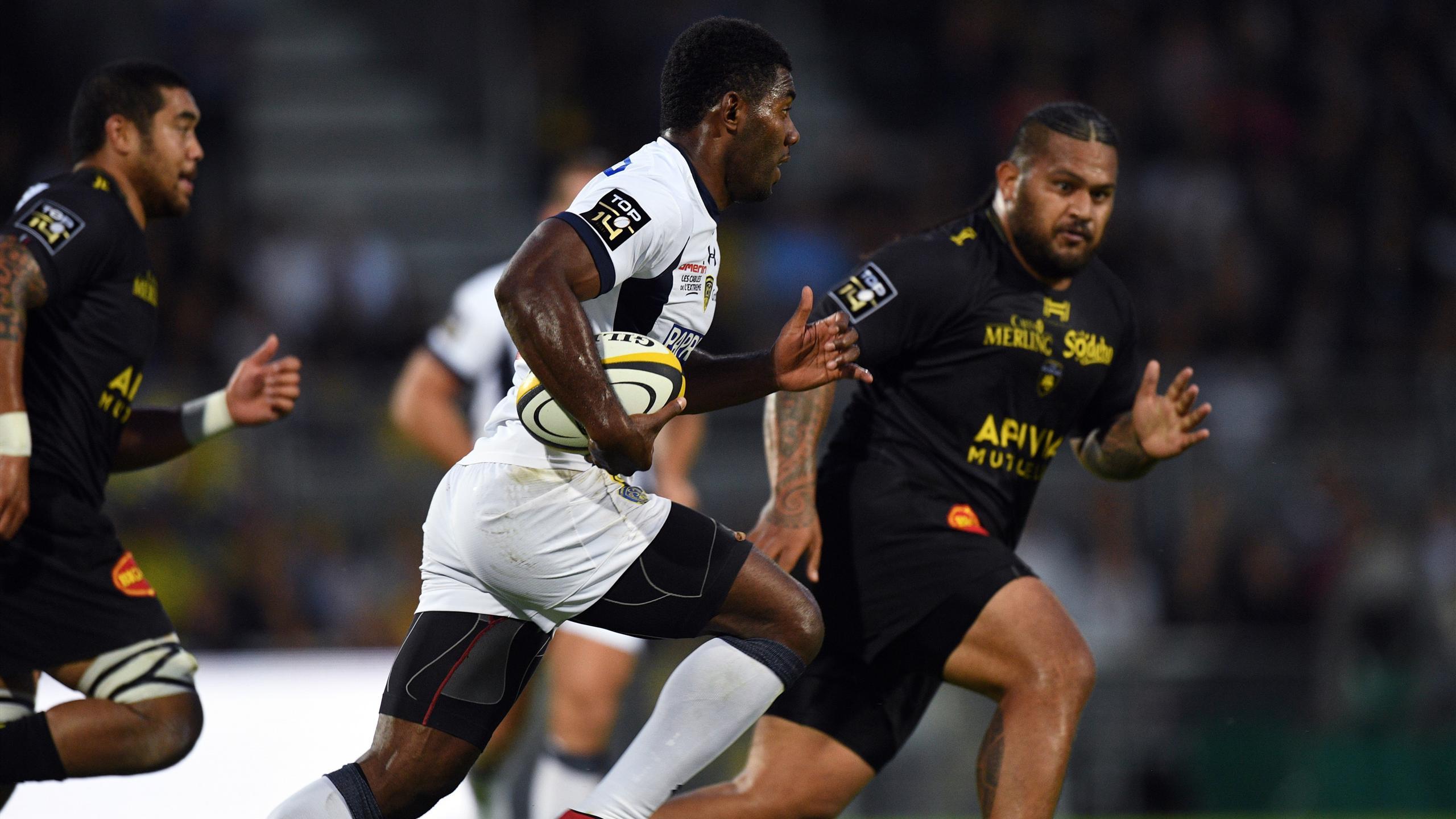 Noa Nakaitaci (Clermont) face à La Rochelle - 20 août 2016