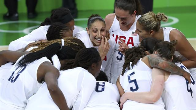 United States thump Spain to win sixth straight basketball gold