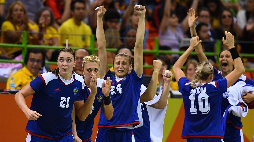 Olympia 2016 In Rio Handball Russland Schlägt Frankreich Im