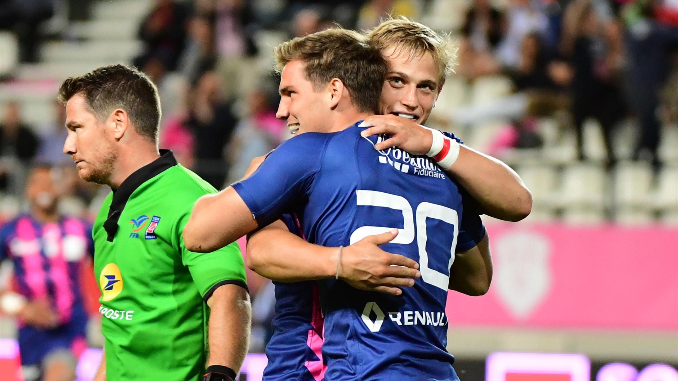 Jules Plisson et Clément Daguin se félicitent