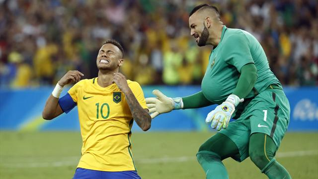 Neymar wins gold for Brazil after penalty drama