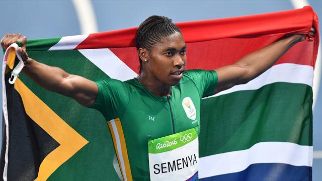 Mariage de la championne olympique Caster Semenya avec sa compagne