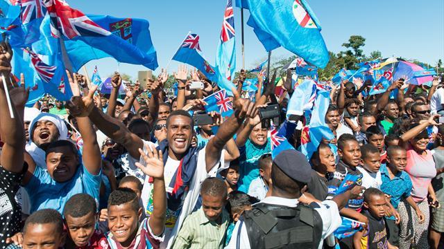Retour triomphal au pays et jour férié décrété pour les héros fidjiens