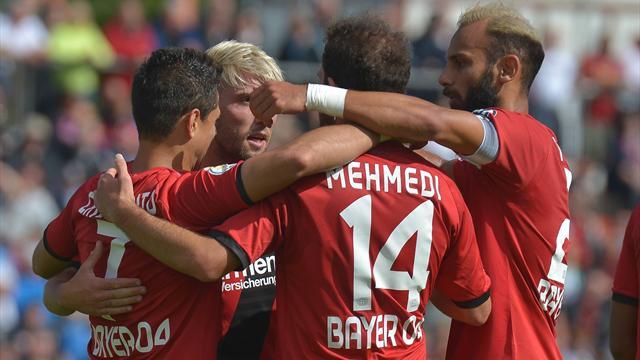 «Байер» вылетел изКубка Германии, проиграв ноунеймам из 3-го дивизиона