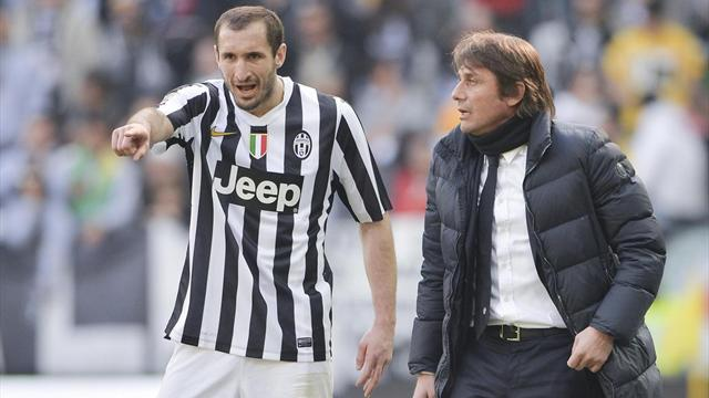 Chiellini sorpreso da Conte all'Inter: